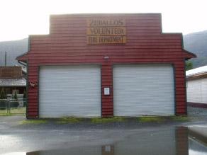 Zeballos Volunteer Fire Department Hall 1